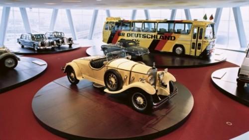 FOTO: Muzeul Mercedes-Benz din Stuttgart19637