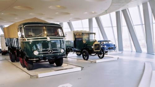 FOTO: Muzeul Mercedes-Benz din Stuttgart19638