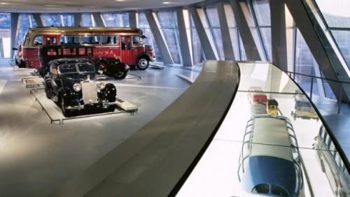 FOTO: Muzeul Mercedes-Benz din Stuttgart19641