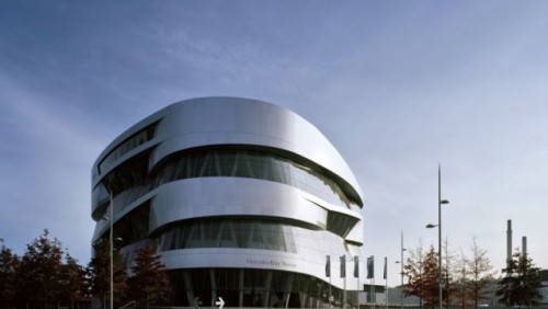 FOTO: Muzeul Mercedes-Benz din Stuttgart19651