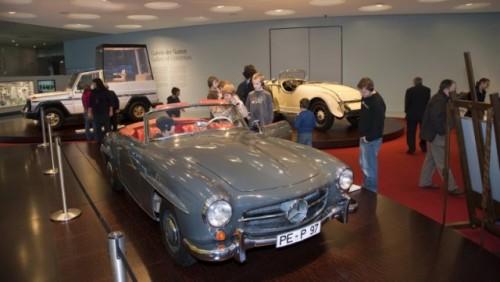 FOTO: Muzeul Mercedes-Benz din Stuttgart19661