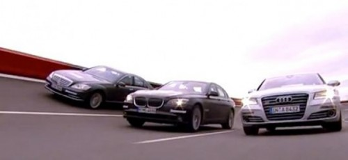 VIDEO: Audi A8 vs Mercedes S-Klasse vs BMW Seria 719631