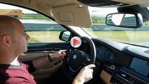VIDEO: BMW 535i pe circuit19616