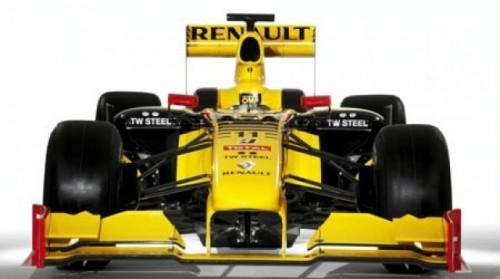 Renault a prezentat noul monopost de Formula 119299