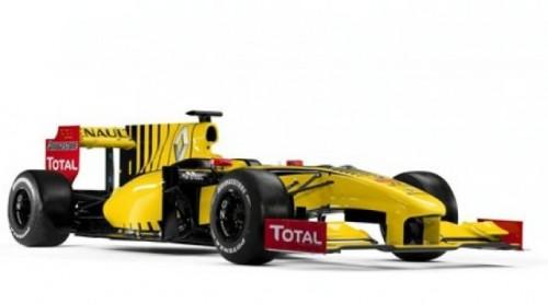 Renault a prezentat noul monopost de Formula 119300