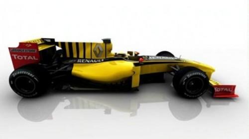 Renault a prezentat noul monopost de Formula 119303