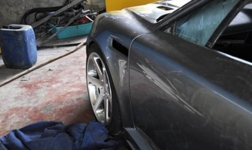 Opel Calibra transformat in Aston Martin DB919091