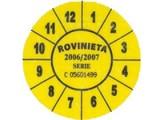 Rovinieta autocolanta va fi inlocuita din august de rovinieta electronica19028