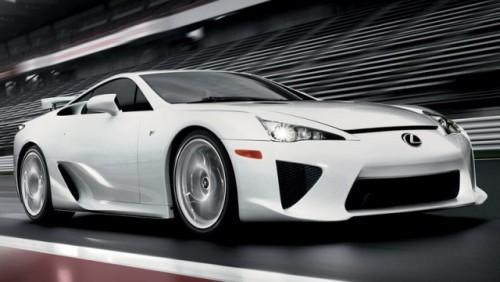 Peste 500 de comenzi pentru Lexus LF-A18990