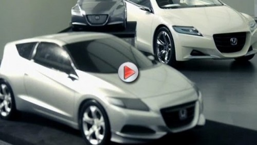 VIDEO: Honda CR-Z Hybrid Sports Coupe18974