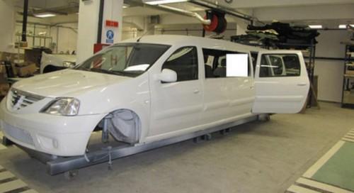 Dacia Logan transformata intr-o limuzina18957