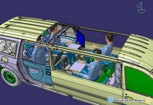 Dacia Logan transformata intr-o limuzina18960