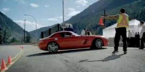 VIDEO: Reclama geniala la Mercedes SLS AMG18372
