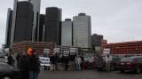 Proprietari de Saab au protestat in fata sediului GM pentru salvarea marcii suedeze18287