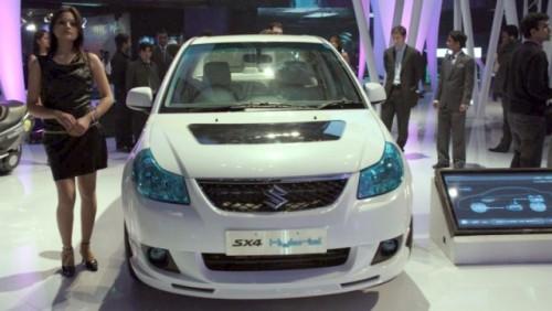 Suzuki prezinta hibridul SX418264