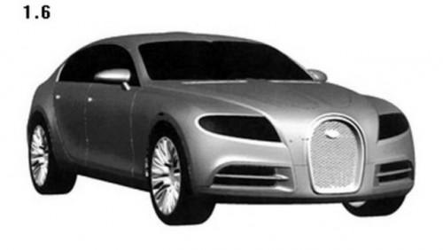 Bugatti a inregistrat design-ul noului 16C Galibier Sport sedan18123