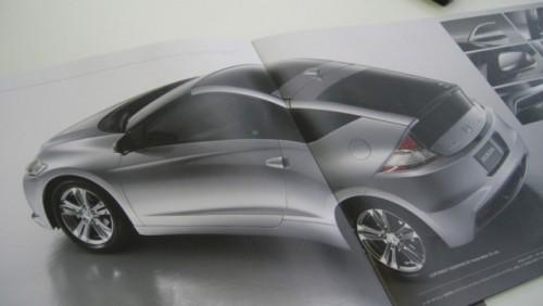 Brosura noului Honda CR-Z18085
