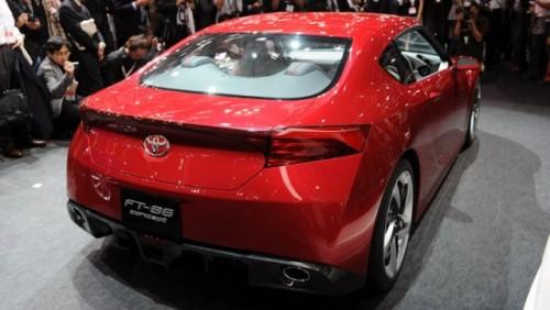 Subaru este reticient in legatura cu Coupe-ul FT-8617894