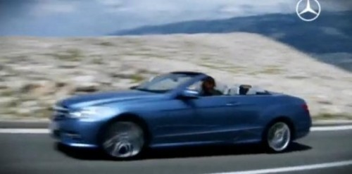 VIDEO: Primul clip cu noul Mercedes E-Klasse Cabrio17743