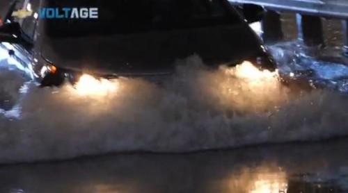 VIDEO: Chevrolet Volt, testul de apa17637