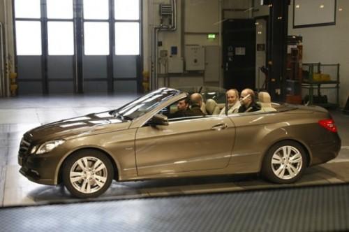 Mercedes a prezentat noul E-Klasse Cabrio17614