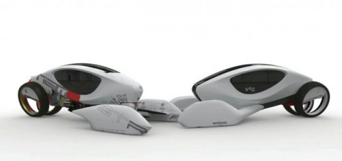 Conceptul Nissan V2G, castigator la Auto Show Design Challenge17585