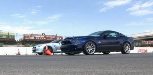 VIDEO: Confruntare comica intre Nissan GT-R si Mustang Shelby GT50017571
