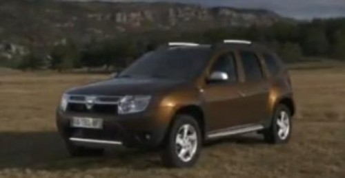 VIDEO: Dacia Duster, primul clip de prezentare17544