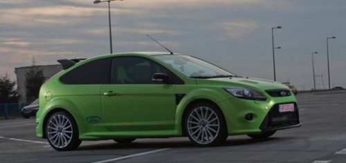 Ford Focus RS cu 371 CP, tunat in Romania17342