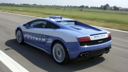 Politia italiana a distrus Lamborghini-ul din dotare17317