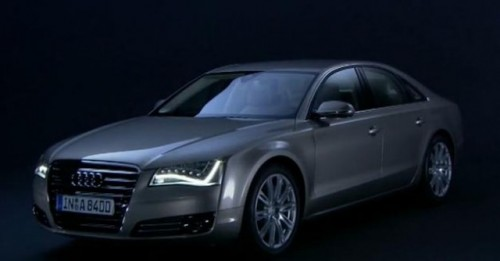 VIDEO: Noul Audi A8 in actiune17313
