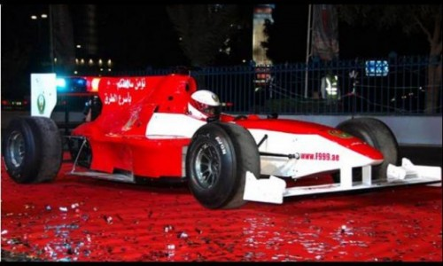Politia din Abu Dhabi are in dotare o masina de Formula 117237