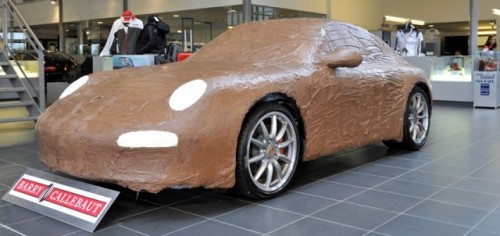 Porsche 911 Carrera, imbracat in ciocolata17002