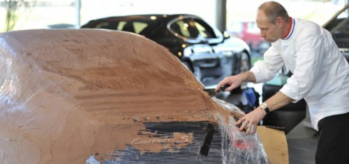 Porsche 911 Carrera, imbracat in ciocolata17008