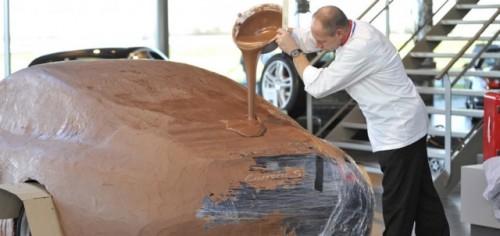 Porsche 911 Carrera, imbracat in ciocolata17009
