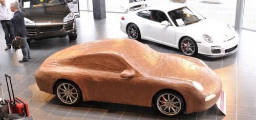 Porsche 911 Carrera, imbracat in ciocolata17010