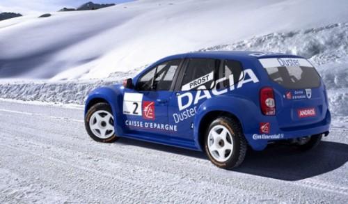 Prima infatisare a SUV-ului Dacia Duster!16966