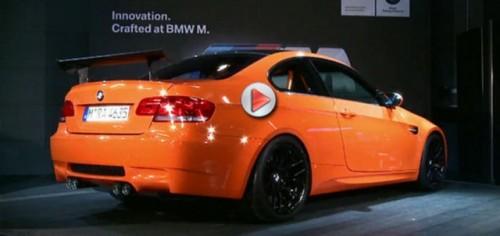 VIDEO: Teaser cu noul BMW M3 GTS16816