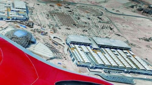 Primele imagini cu parcul Ferrari din Abu Dhabi16785