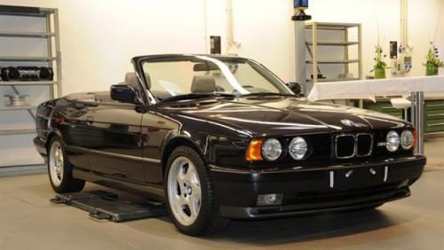 BMW a construit acum 20 de ani un M5 cabrio pe care l-a tinut secret16709