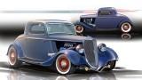 Ford din 1934 cu 400 CP se prezinta la SEMA16689