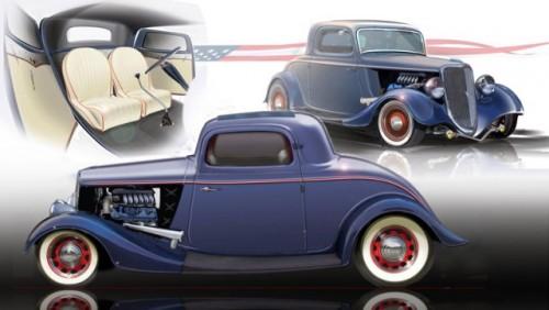 Ford din 1934 cu 400 CP se prezinta la SEMA16690