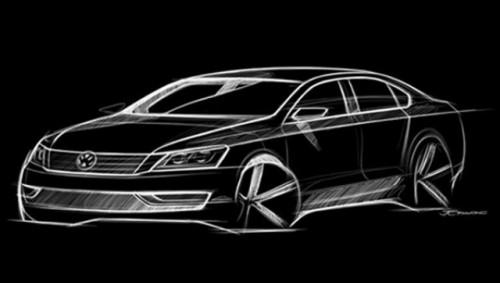 VW a dat publicitatii schita cu noul model american16647