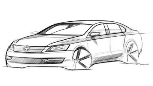 VW a dat publicitatii schita cu noul model american16648