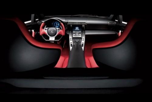 Noul Lexus LF-A, killer de Ferrari16440