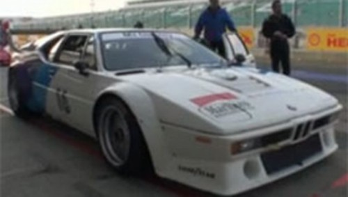 VIDEO: BMW M1, pe Circuitul GP Silversptone16363