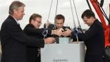 Mercedes a pus piatra de temelie pentru uzina din Ungaria16330