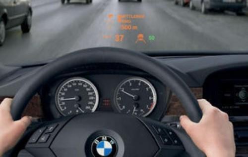 BMW va avea un afisaj color si tridimendional in parbriz16124
