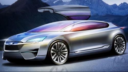 Imagini oficiale cu Subaru Hybrid Tourer Concept16104