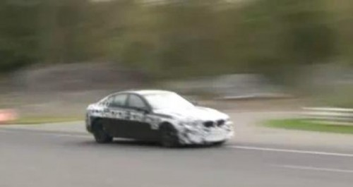VIDEO: Viitorul BMW M5, spionat la Nurburgring16087